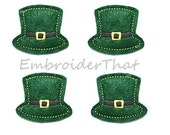 UNCUT St Patrick's Day Hat applique embellishment feltie (4)