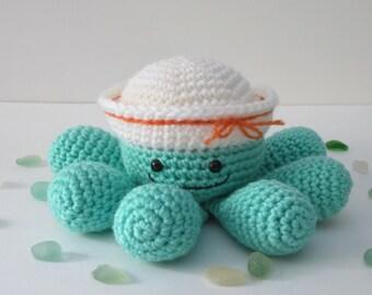 Crochet Octopus, Stuffed Octopus, Toy Octopus, Stuffed Animal, Crochet Stuffed Toy by CROriginals