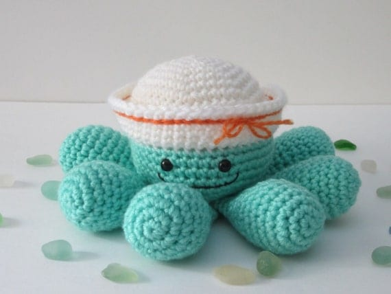 Crochet Octopus, Stuffed Octopus, Toy Octopus, Stuffed Animal, Crochet ...