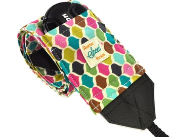 DSLR Camera Strap with Lens Pocket - The Molly