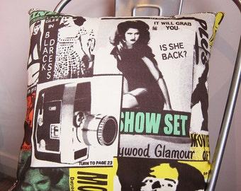 Movie stars cushion cover