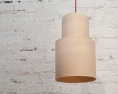 Retro Pendant Lampshade (Ash wood)
