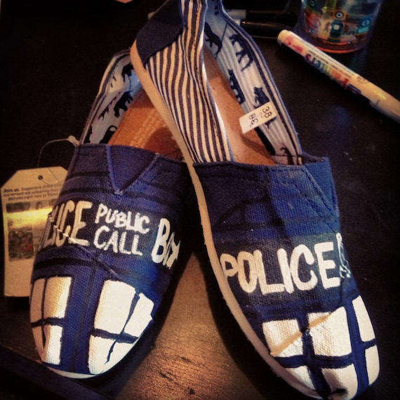TARDIS Dr. Who Shoes