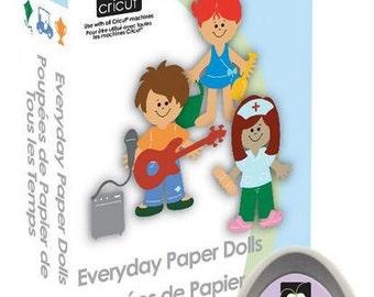 Everyday Paper Dolls, NEW Cricut Cartridge