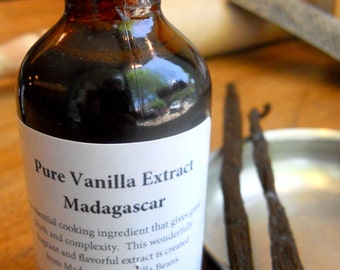 Pure Madagascar Vanilla Extract, Hostess Gift, Foodie Gift