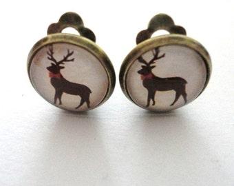 Earclips Deer