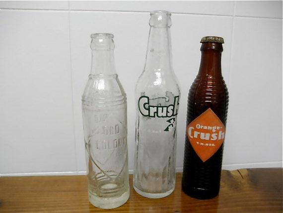 Bouteille de boisson gazeuse de tom Vintage