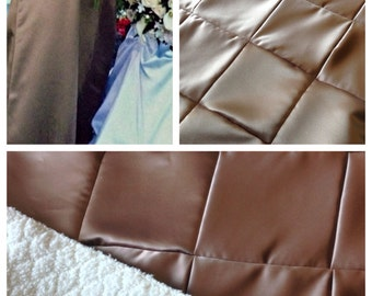 Your Bridesmaid Dress made into a Baby Quilt Baby Blanket
