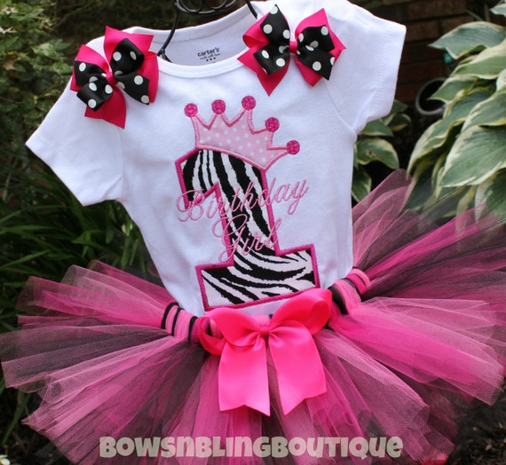 First Birthday Outfit Zebra 1st Birthday 2nd By