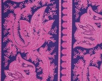 Crazy Love Cecilla Blue Fabric Jennifer Paganelli Free Spirit Fabric 1 yard