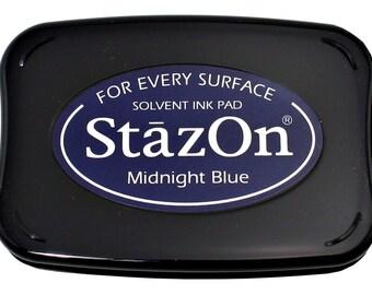 StazOn Midnight Blue Ink Pad