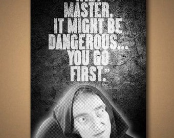 YOUNG FRANKENSTEIN - IGOR Quote Poster