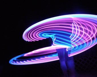 "32"" - 81cm Supernova by Colorado Hula Hoops - Rechargeable LED Hula Hoop"