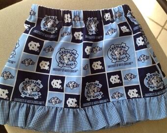 UNC Tar Heel skirt
