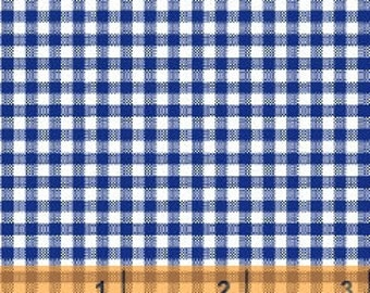 Navy Gingham Check by Windham Fabrics - Yardage