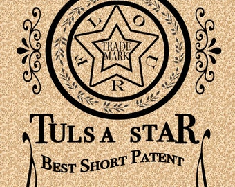 Tulsa Star Flour Sack Towel