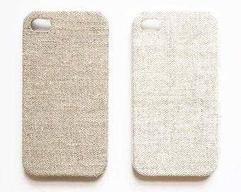 Linen iPhone 6s case, iPhone 6 case, iPhone 6 plus case, Natural iphone case
