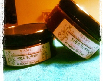 All Natural Shea Butter Body Creme