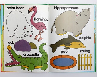 What Can You See at the Zoo vintage hardback book 1989