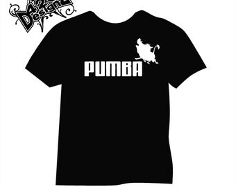 Pumba - , t-shirt, tee, shirt, tee-shirt
