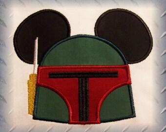 Bobba Fett Mouse Space Wars Shirt - Fun for Magical Family Vacation Dark Fader Princess Lela Yoduh