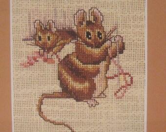 cross stitch beatrix potter mice CHART INSTRUCTIONS ONLY lakeland artist new