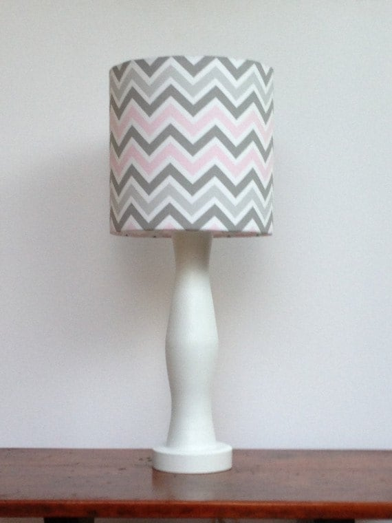 White Floral Lamp Shade