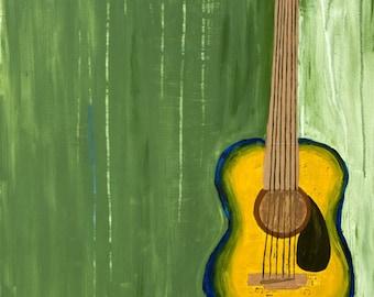 The Guitar - Print