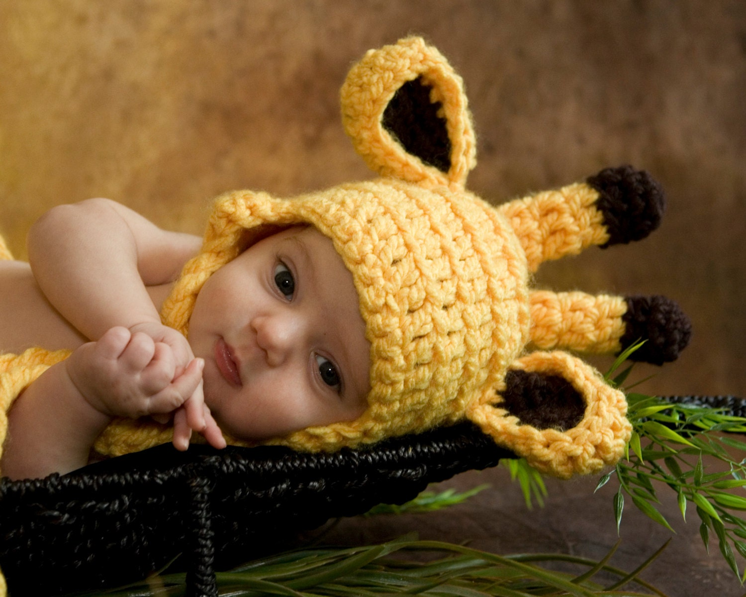 Crochet Hat Pattern Baby Giraffe Beanie Hat : Crochet Pattern Giraffe Hat Baby Crochet Pattern by ...