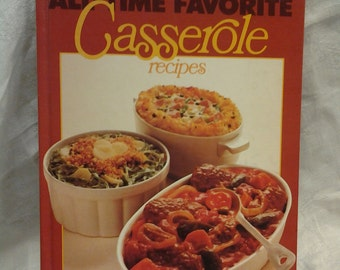 On Sale Better Homes and Gardens All Time Favorites Casserole Recipes 1977
