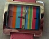 Pedre multi color wrist watch