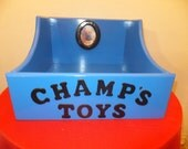 Painted Pet Toy Box