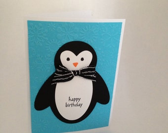 penguin birthday - penguin decoration - penguin card - penguin birthday card - penguin baby shower - penguin party