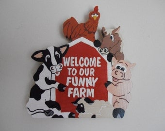 Funny Farm Sign