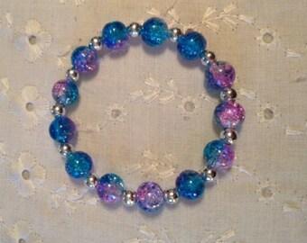 Mystic blue bracelets