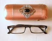 Victorian Gothic Copper Eyeglass Case -  Eye wear Accessories - PetitBoudoirNoir