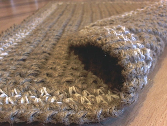 jute doormat crochet rug door rug handmade welcome rug. Black Bedroom Furniture Sets. Home Design Ideas