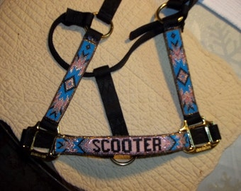 Personalized Beaded Horse halters