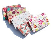 Patterned Travel Card Holder - 6 Original Designs