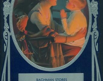 Bachman Stores Champagin IL, 1936 Calendar