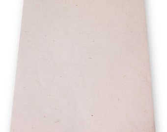 "20 Shts 19"" x 12.5"" Handmade Paper - Natural Color (75 gsm)"