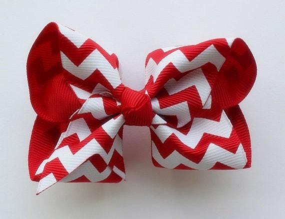 https://www.etsy.com/listing/154913081/chevron-hair-bow-red-chevron-bow