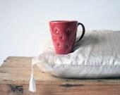 Handmade large glamorous ceramic cup- 0,4l ( 13.5 oz)