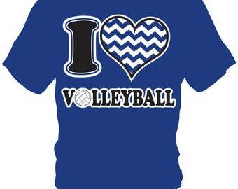 I love heart volleyball t shirt plus sizes 2xl 5xl for Life is good volleyball t shirt
