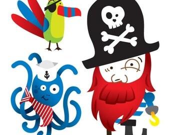 Temporary Tattoos - Pirates