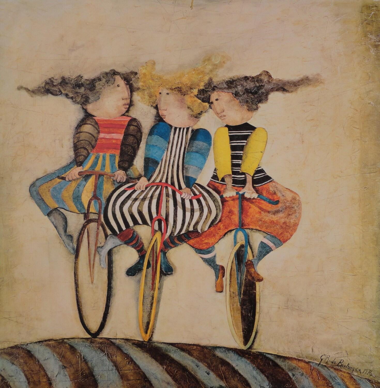 Graciela Boulanger Holiday on Wheels Reproduction