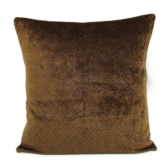 Accent Pillows For Chocolate Brown Couch : Sale Brown Throw Pillow Cover Saddle Chocolate Decorative