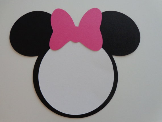 Minnie mouse ears template pictures to pin on pinterest for Template for minnie mouse ears
