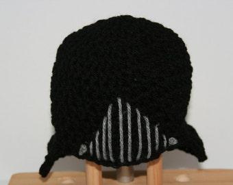 Darth Vader 'Inspired' Crochet Hat.