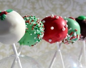 Deluxe Holiday Cake Pops